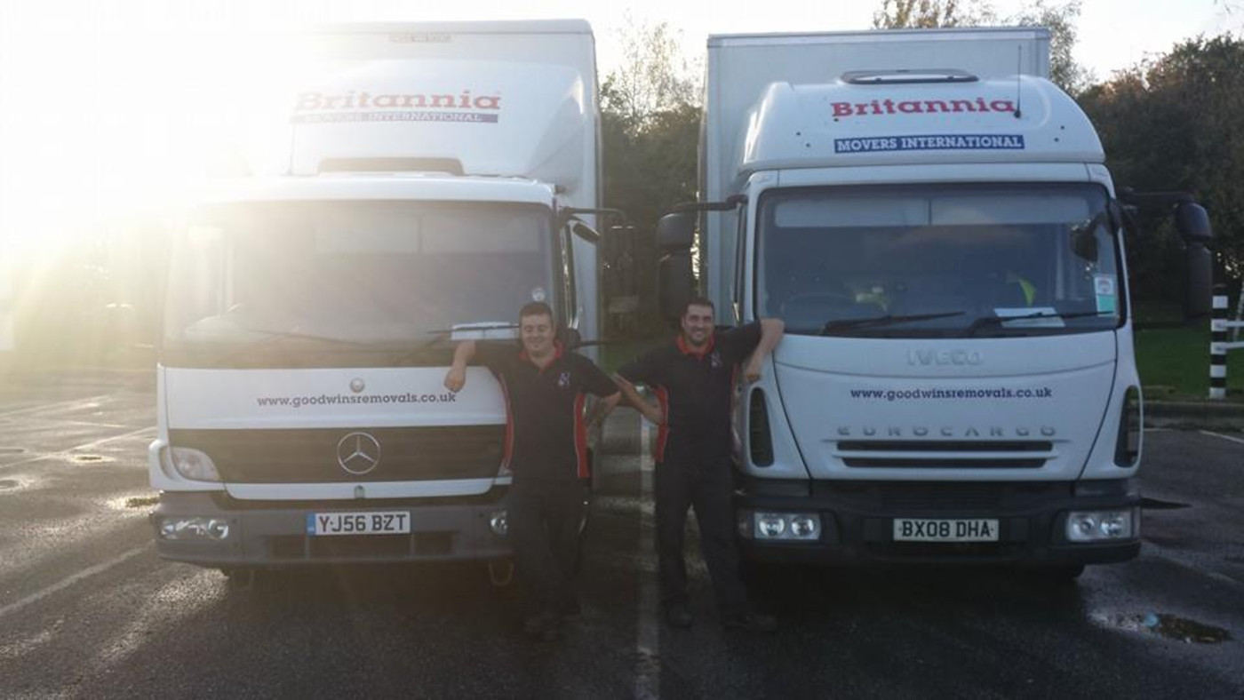 Britannia Goodwins Removals & Storage Stafford Removals in Uttoxeter