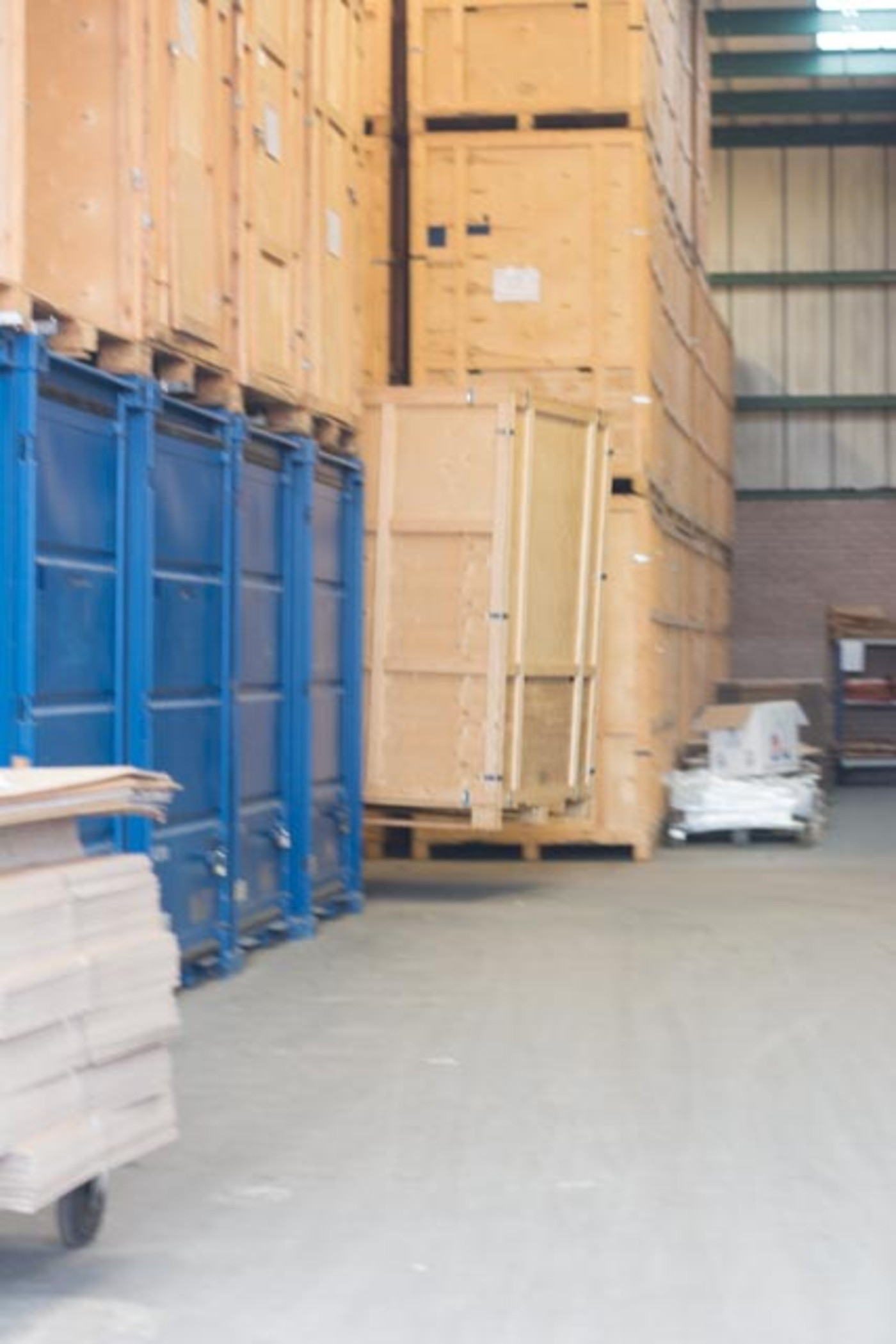 Storage for International Removals