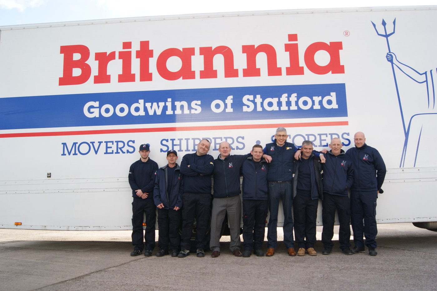 Britannia Goodwins Removals & Storage Stafford and Cheshire