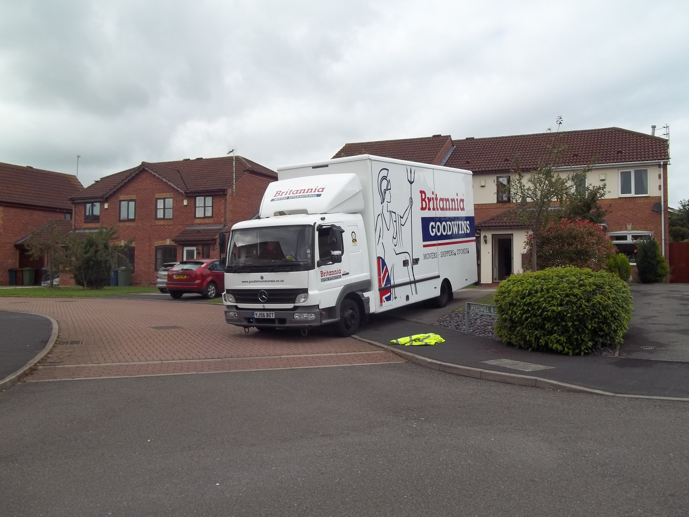 Britannia Goodwins Removals & Storage Stafford Removals in Cheshire